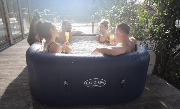 lay-z spa Hawaii Airjet, lazy spa Hawaii air jet Eazy Direct outdoors picture payl8r hot tub 0% finance payl8r pay monthly pay weekly hot tub low credit bnm wayfair the range cheap hot tub buy now pay later lay z spa layzspa hot tub vegas inflatable financing low credit bad credit bubbles freeze shield