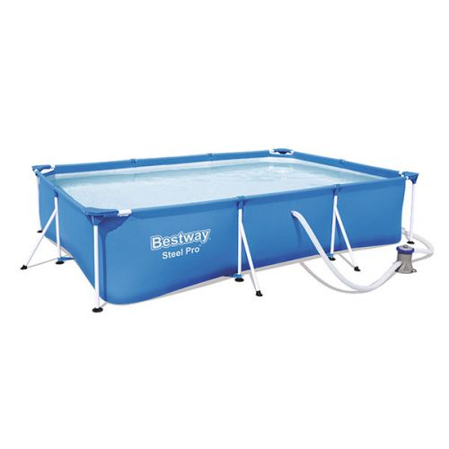pool full rectangel square blue Bestway square steel pro paddling pool, Bestway, small pool paddling pool large, garden hot tub, hot tub mat, Eazy Direct payl8r hot tub 0% finance payl8r pay monthly pay weekly kids pool, paddling pool, garden pool, low credit bnm wayfair the range cheap hot tub buy now pay later lay z spa layzspa hot tub lazy spa vegas inflatable financing low credit bad credit