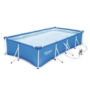 blue and white with pump Bestway square steel pro paddling pool, Bestway, small pool paddling pool large, garden hot tub, hot tub mat, Eazy Direct payl8r hot tub 0% finance payl8r pay monthly pay weekly kids pool, paddling pool, garden pool, low credit bnm wayfair the range cheap hot tub buy now pay later lay z spa layzspa hot tub lazy spa vegas inflatable financing low credit bad credit