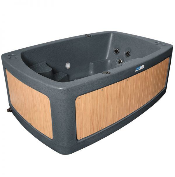 duospa dark grey teak panel Eazy Direct roto spa lazy spa hot tub 0% finance waterfall lights RotoSpa Orbis grey eazy hire easy direct payl8r pay monthly pay weekly hot tub low credit bnm wayfair the range cheap hot tub buy now pay later lay z spa hot tub financing Eazy hot tubs