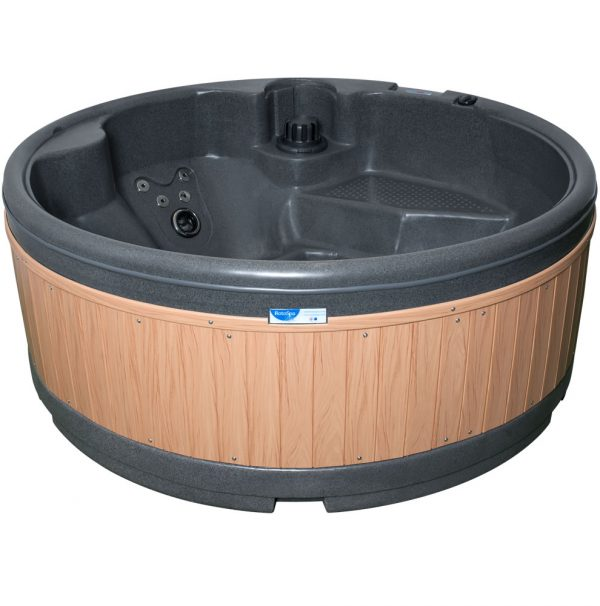 orbis dark grey teak panel no background Eazy Direct roto spa lazy spa hot tub 0% finance waterfall lights RotoSpa Orbis grey eazy hire easy direct payl8r pay monthly pay weekly hot tub low credit bnm wayfair the range cheap hot tub buy now pay later lay z spa hot tub financing Eazy hot tubs