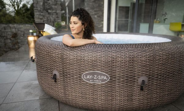 lay-z spa St moritz, freeze shield hot tub, lazy spa st moritzi hot tub Eazy Direct, klarna, laybuy, hot tub 0% finance payl8r pay monthly pay weekly hot tub low credit bnm wayfair the range cheap hot tub buy now pay later lay z spa layzspa hot tub st Moritz, inflatable financing low credit bad credit, with woman
